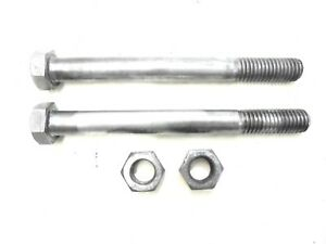 1967 1969 Camaro Rear Leaf Spring I Bolts With Nuts Pair