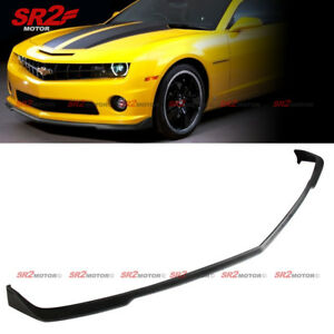 Front Body Kit Bumper Pu Lip Spoiler Cs Style Fits 2010 2013 Chevy Camaro Ss V8