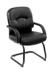 Office Guest Chair In Black id 10238