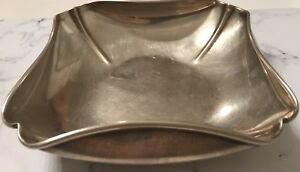Antique Sterling Silver Black Starr Gorham Ash Tray Or Candy Bowl