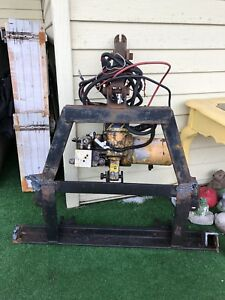 Meyer Snow Plow Setup E60 E 60 Pump With Touchpad Controller Wiring 6 5 Blade