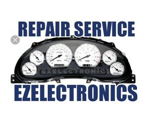 1994 To 2004 Ford Mustang Instrument Cluster Repair Service Odometer Trip
