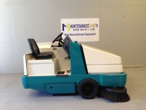 Tennant 6500 Gas Rider Sweeper Re manufactured Free Shipping Huge Sale