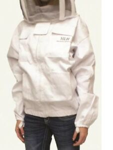 Harvest Lane Honeyclothsjs 102 Bee Keepers Jacket With Hood White Small