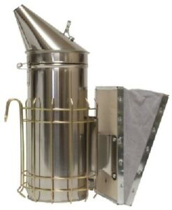Harvest Lane Honey Smk 104 Stainless Steel Large Bee Smoker