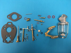 Ford Tractor 600 700 Master Carburetor Rebuild Repair Kit Marvel Tsx580 Float