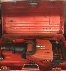 Hilti Te 1000 avr Demolition Hammer With One Chisel
