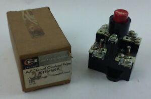 Cutler Hammer Ac Thermal Overload Relay 10176h69a new In Box