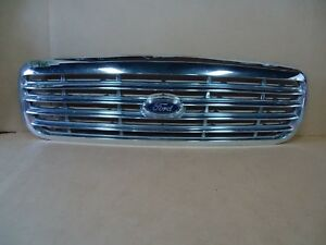 1998 1999 2000 2001 2002 2003 Ford Crown Victoria Grill Grille Chrome Oem