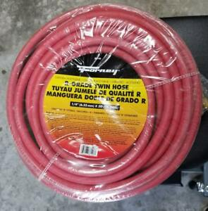 Forney 86146 X 50 B Fitting Oxygen acetylene R grade Twin Hose New
