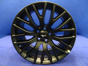 15 16 17 Ford Racing 19 x9 0 Black Matte Satin Wheel Rim Mustang M 1007 m199b