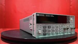 Hp Agilent Keysight 53131a Frequency Counter 225mhz With Option 010