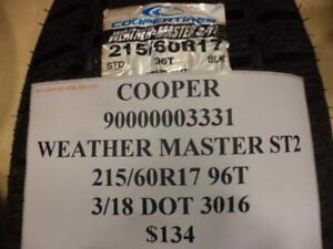 1 Cooper Weather Master St2 215 60 17 96t Brand New Tire 90000003331 Q8