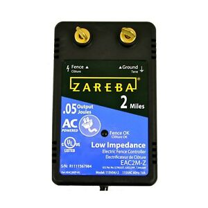 Zareba Eac2m z 2 mile Ac Low Impedance Fence Charger discontinued By Manufac