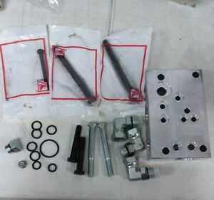 Ford Tractor Hv5902 New Hydraulic Valve Adapter Plate Kit W O rings