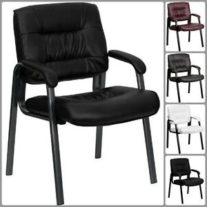 Office Furniture Reception Chair Lobby Guest Exam Padded Arms Waiting Room Seat
