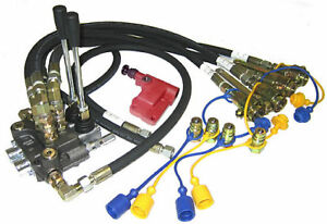 Ford Tractor Hydraulic Valve Kit Assembly 2000 3000 4000 2600 3600 3900