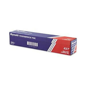 Reynolds Heavy Duty Aluminum Foil Roll 24 X 1000 Ft Silver 627