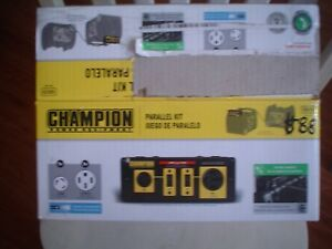 Parallel Cable Kit 30a 50a Inverter Generator Champion 100319 New Open Box