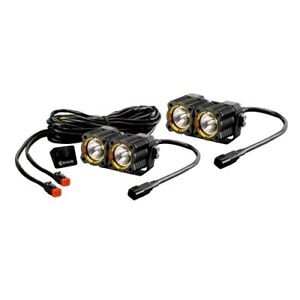 Kc Hilites 268 Dual Led Light System Spread Beam