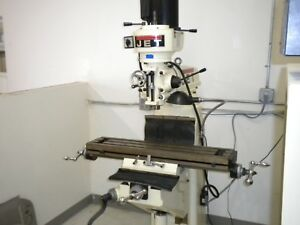 Jet Jvm 836 1 Vertical Mill Milling Machine With Tools And Cutters