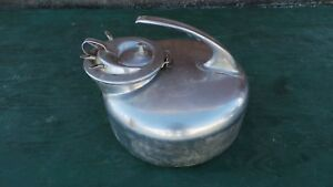 Vintage Surge Pail Bucket Milker Milking Machine Stainless Steel With Lid