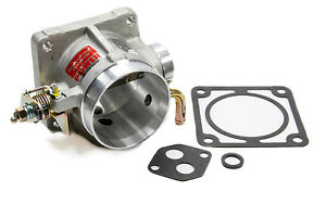 1986 1993 Mustang 5 0 Throttle Body 75mm 75 Mm Spacer Satin Finish 89 90 91 92