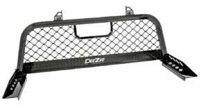 Deezee Dz 95050wrb Heavy Duty Black Aluminum Truck Cab Rack For F 350 F 450