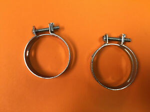 2 Allis Chalmers Tractor B C Ca D10 D12 Wc Wd 921913 Air Cleaner Hose Clamps