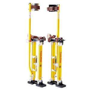 24 40 Toolpro Magnesium Adjustable Drywall Stilts Painting Painter Taping Tool