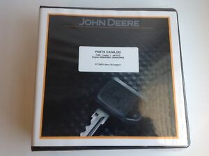 John Deere Parts Catalog 724k Loader In 3 Ring Binder New