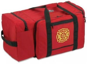 Arsenal 5005 Large Nylon Firefighter Rescue Turnout Fire Gear Bag With Shoulder