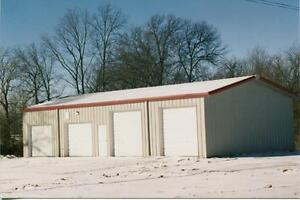 Steel Building 24x24x10 Simpson Steel Metal Garage Shop