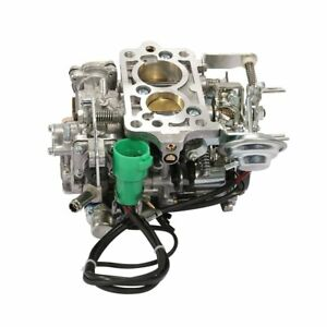 Carburetor For Toyota 2 Barrel Pickup 22r 1981 1987 W Green Round Plug 2 4l