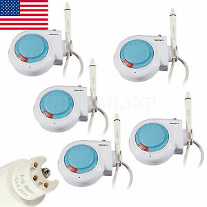 5 Ultrasonic Dental Scaler Cleaner Fit Ems Woodpecker Handpiece Tube Tips F9 x