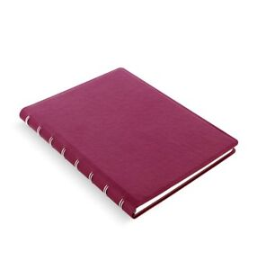 Filofax Notebook Pennybridge A5 Raspberry Notebook Faux Lether Refillable 115031