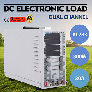 110v Dual Channel Dc Electronic Load Adjustable Cc cv Mobile Power 2 Ch Hot