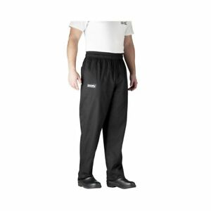 Chefwear 3500 30 Large Black Ultimate Chef Pants