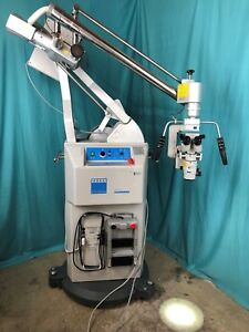 Carl Zeiss Opmi Cs nc Surgical Microscope Nc 2 Contraves Stand Light Source F170