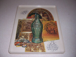 1904-1979 Coca Cola Bottling Company 75th Anniversary Melmac Tray