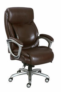 Brand New La z boy Big Tall Bonded Leather Executive Chair 48526