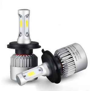 Utility H4 9003 Led 8000lm Headlight Car Hi Lo Beam Auto Bulbs 6000k White
