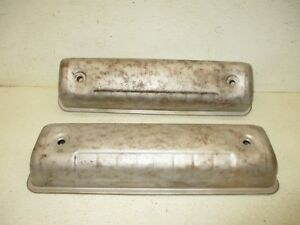 Ford Y Block 239 256 272 292 312 Engine Motor Valve Covers