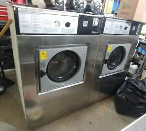 Wascomat Washers Lot Of 2 Generation 5 W185 Giant Excellent Condition