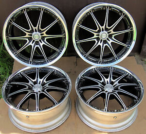 Jdm Volk Racing Rays Gt F R19 Two Piece Forged Wheels 5x114 3