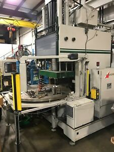 1996 Autojector Model Wdthcr 200 Vertical Injection Molding Machine