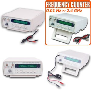 Frequency Counter Digital Bench Frequency Signal Meter With Ac Power Cable New