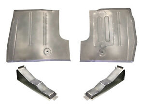 1961 66 Ford Truck Front Floor Pans Braces F 100 Thru F 600 Series See Note