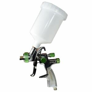 Lvlp Gravity Feed Air Spray Paint Gun With 1 8mm Nozzle 600ml Cup Capacity