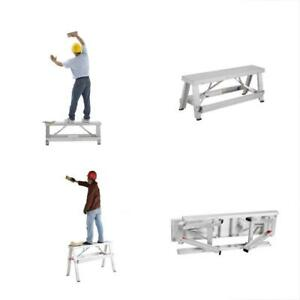 Pentagon Workbenches Tool Professional Aluminum Drywall Bench Adjustable Lift